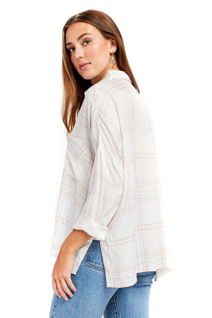 Plaid Nellie Top - Back