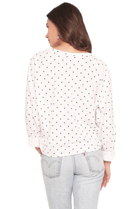 Polka Dot Isabella Sweater - Back