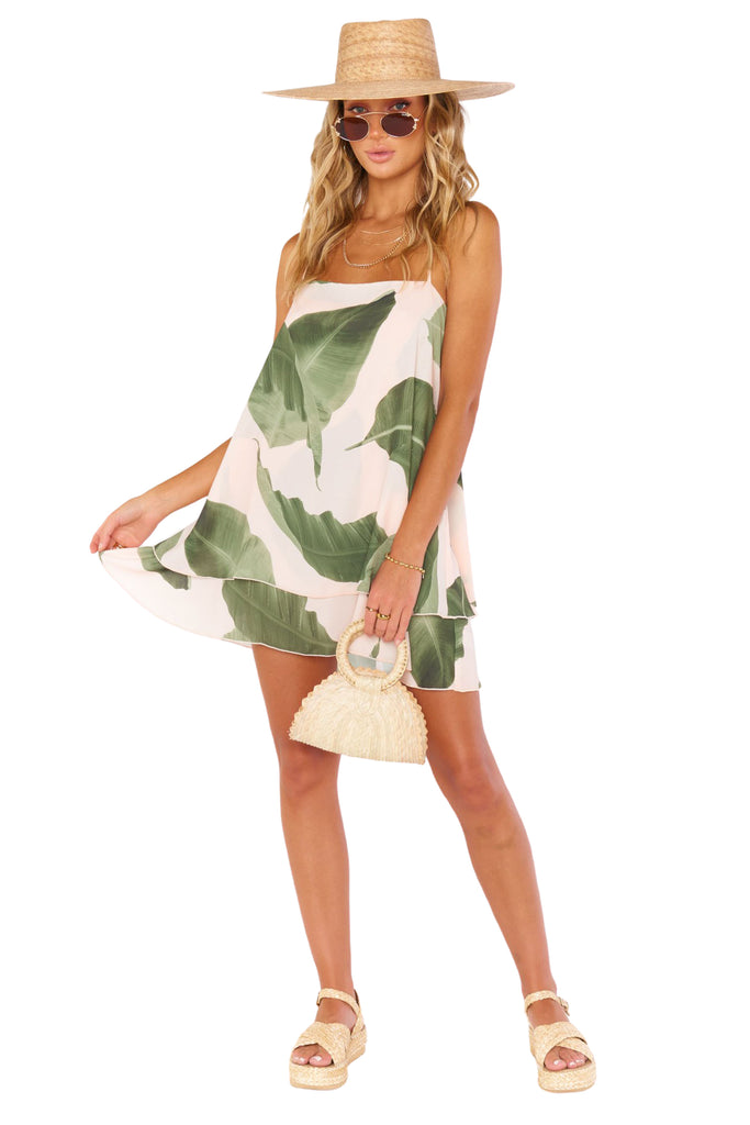 Queen Palms Christy Dress - Full