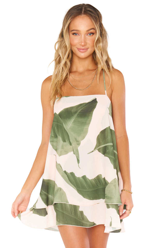Queen Palms Christy Dress - Front