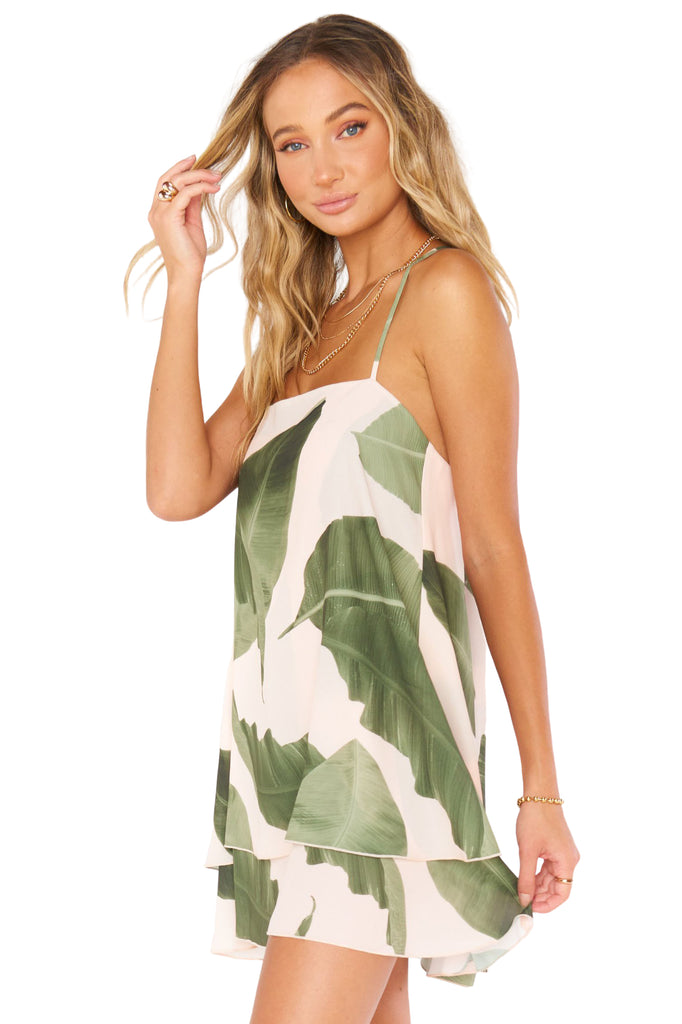 Queen Palms Christy Dress - Side