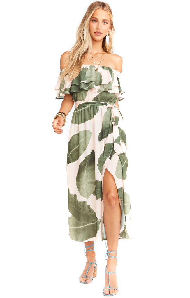 Queen Palms Rosie Dress - Front