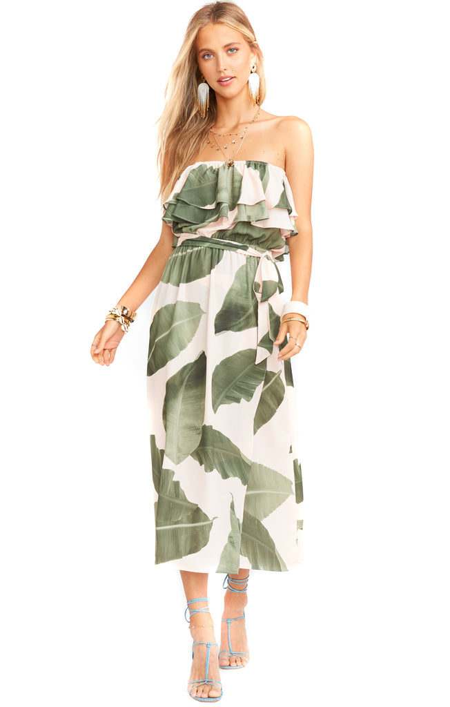 Queen Palms Rosie Dress