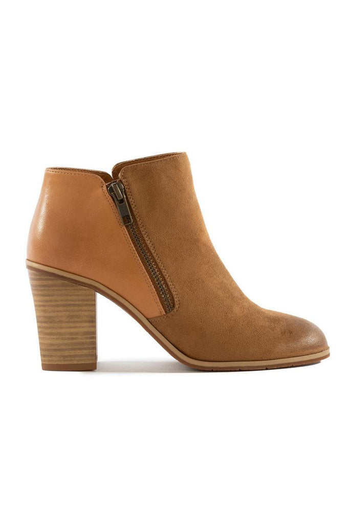 BC Footwear Tan Quite Simple Ankle Boot