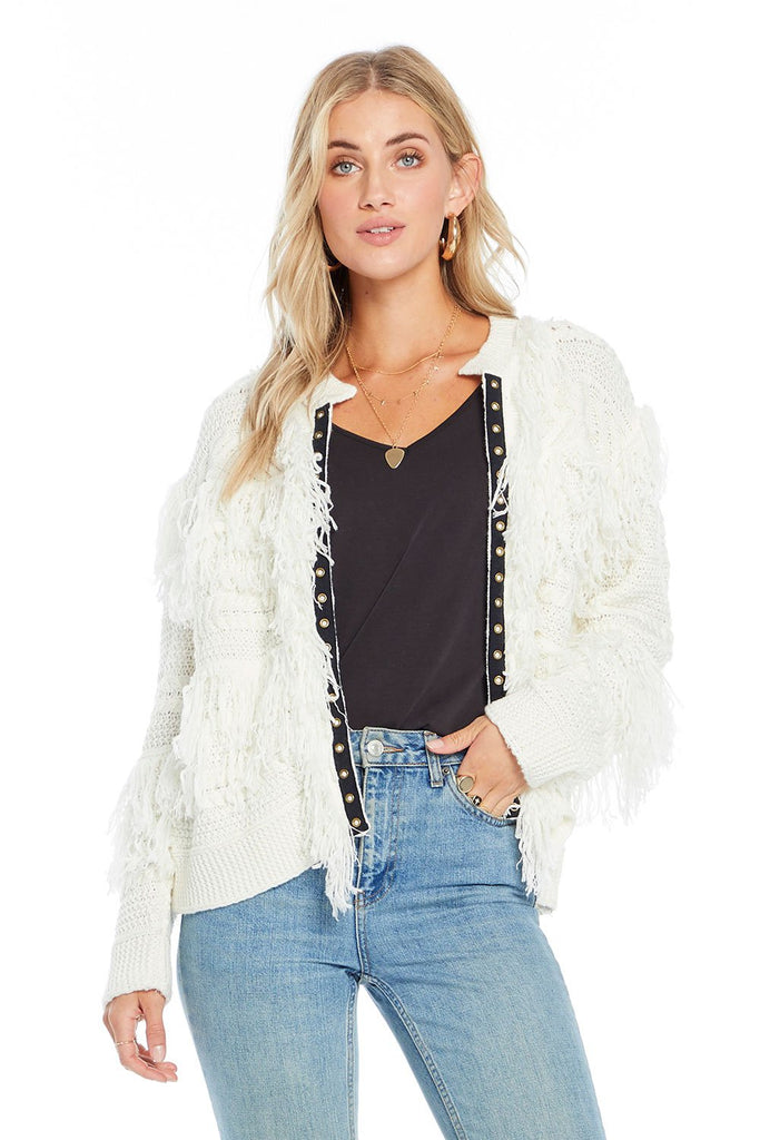 saltwater luxe ivory fringe free spirit sweater