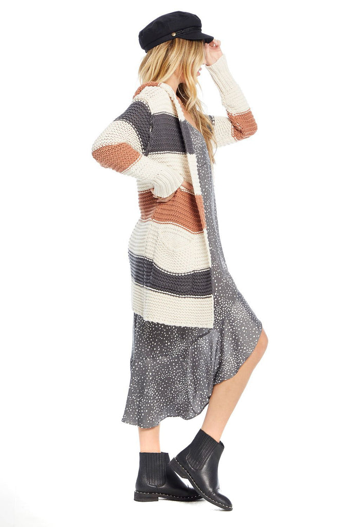 Saltwater Luxe Kaye Stripe Sweater - side