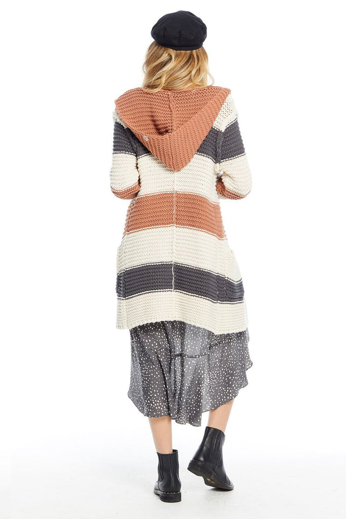 Saltwater Luxe Kaye Stripe Sweater - back