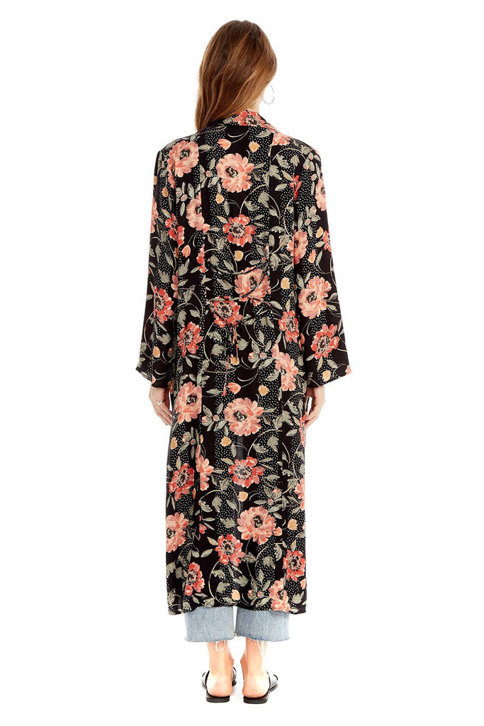 Floral Dot Emery Duster - back