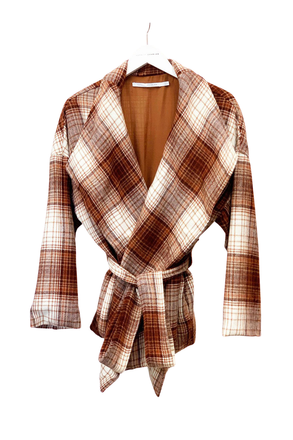Sahara Plaid River Jacket - Side