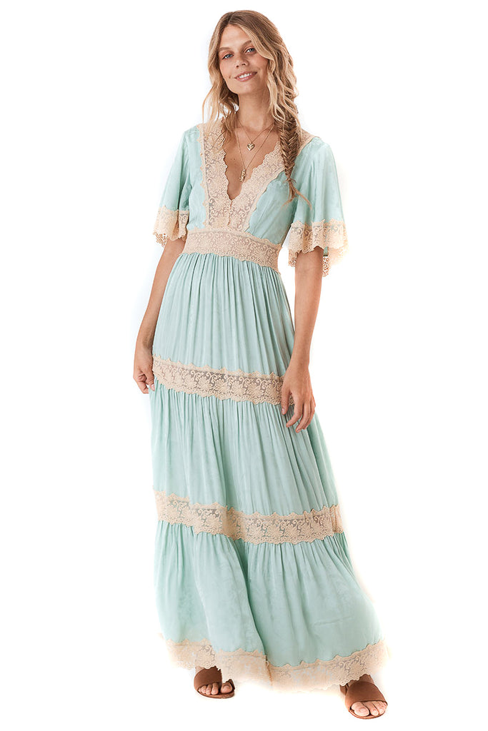 Spell & The Gypsy Collective Seafoam Ocean Gown