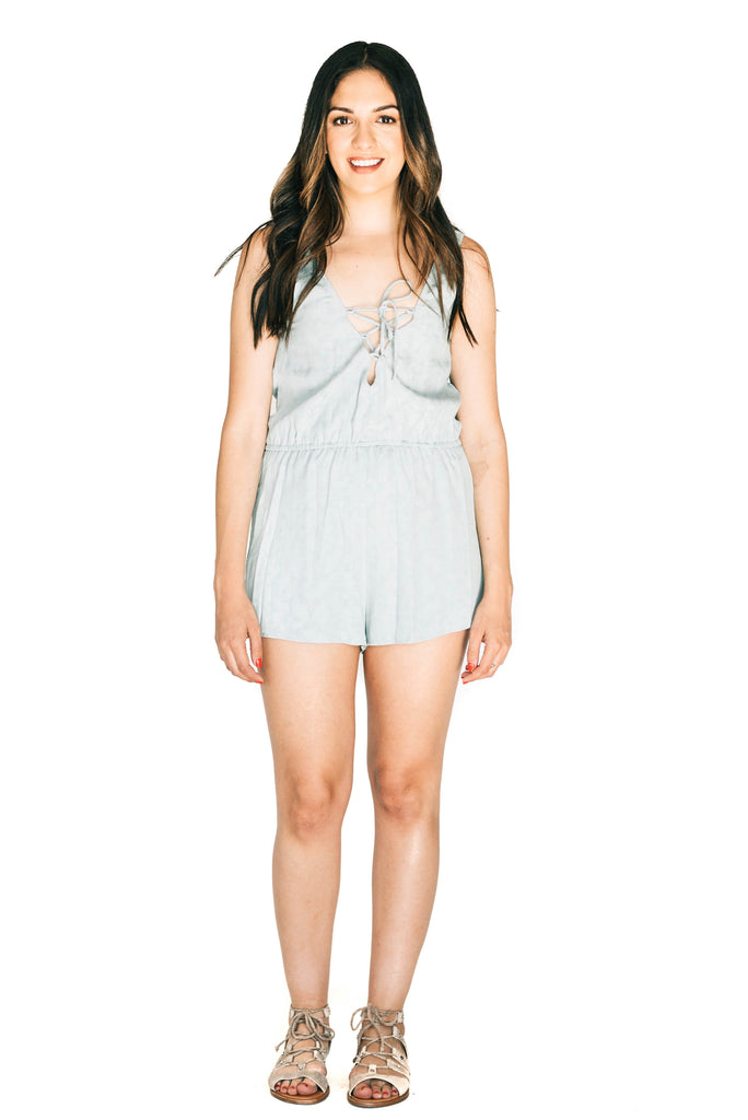 saltwater luxe sea glass live it up romper