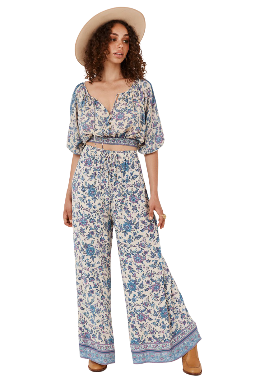 Sky Folk Song Wide Leg Pants