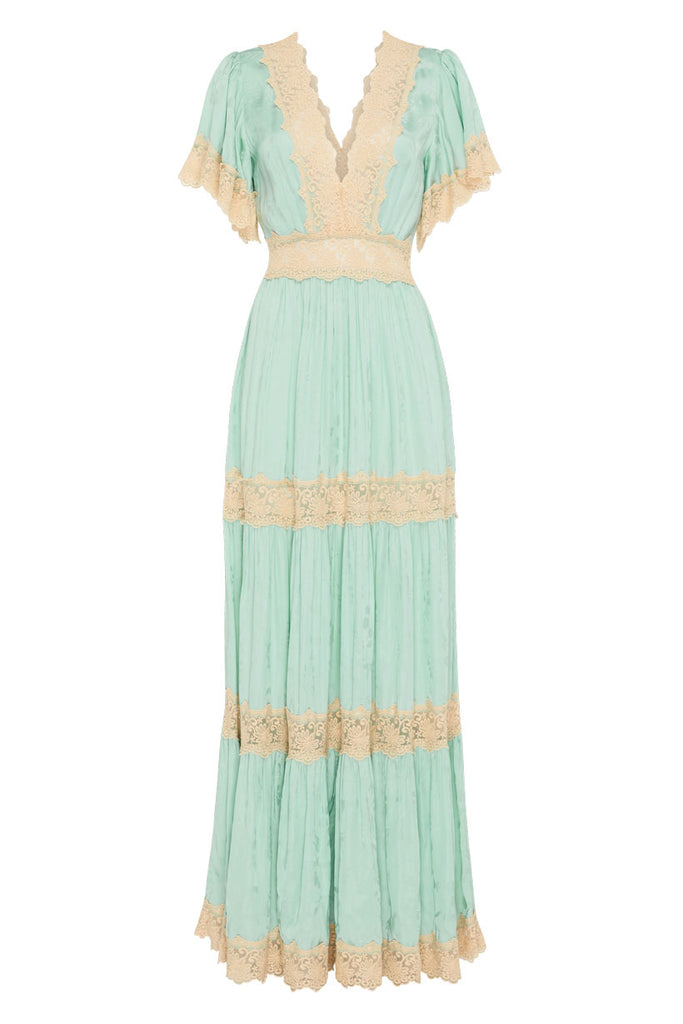Spell & The Gypsy Collective Seafoam Ocean Gown - product front