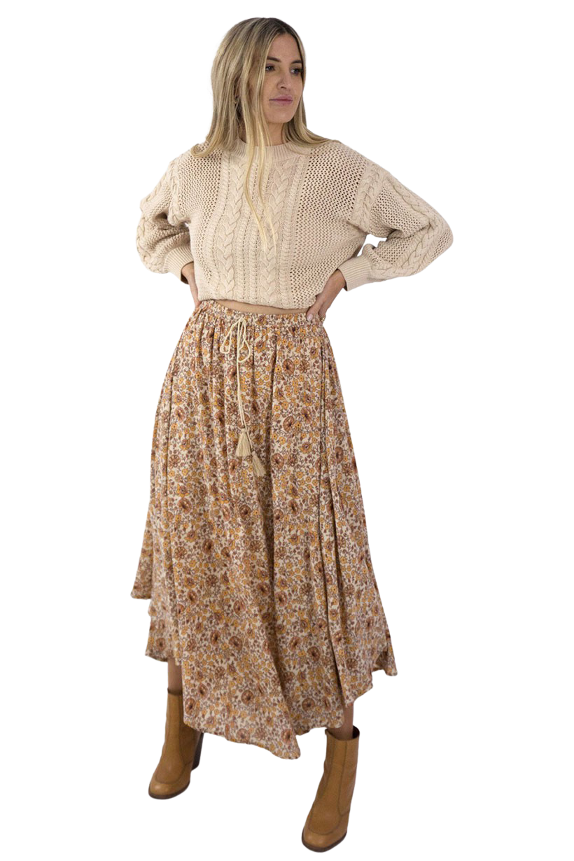 Spice Sundown Castaway Skirt