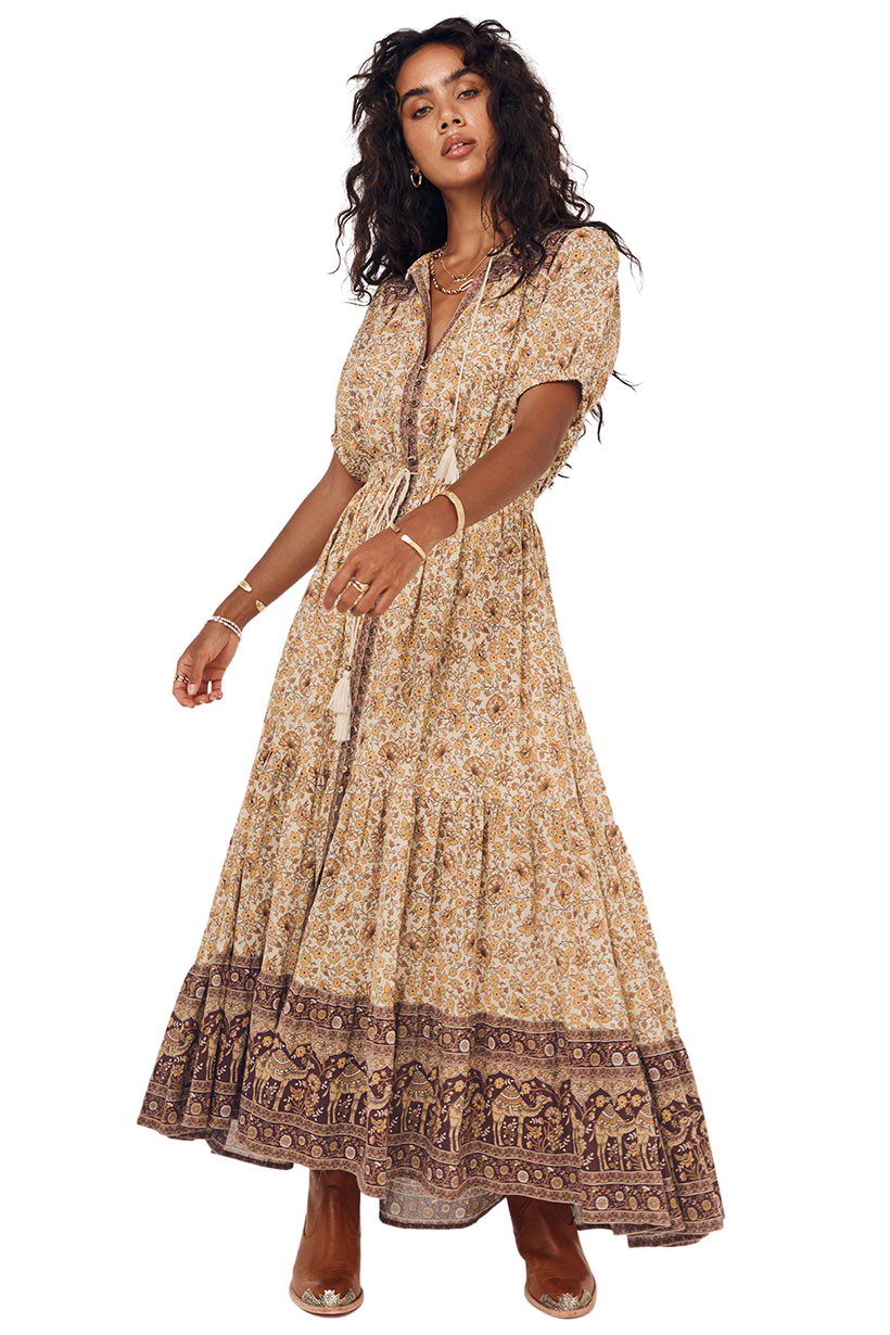 Spice Sundown Gown