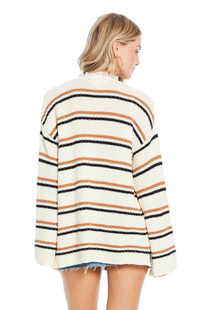 back of saltwater luxes salty stripe claire sweater