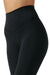 Sueded Onyx Second Skin Legging - Front