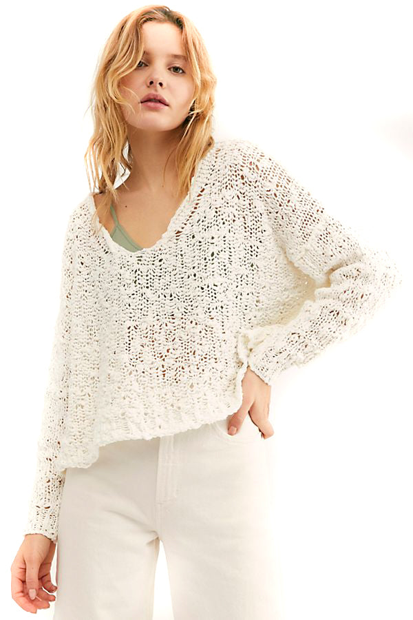 Ivory Sunday Shore Pullover