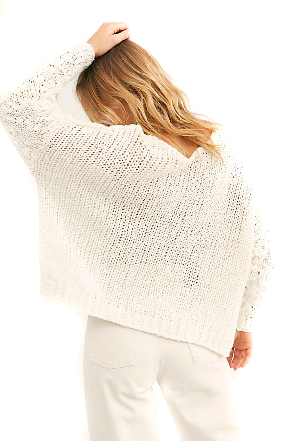 Ivory Sunday Shore Pullover back