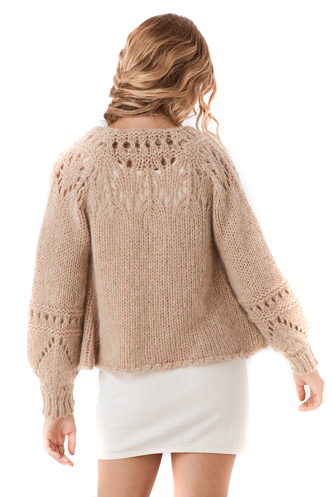 Spell & The Gypsy Collective Surf Shack Knit Cardigan - back