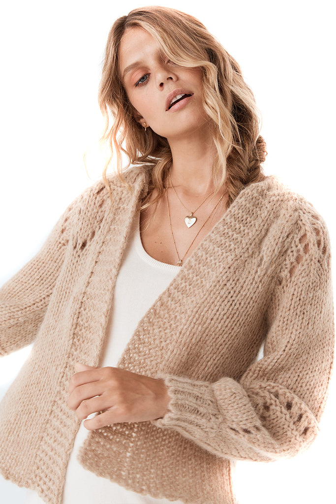 Spell & The Gypsy Collective Surf Shack Knit Cardigan - detail