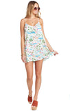 Tiki Time Throw And Go Mini Dress