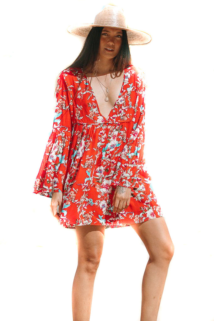 Topanga Belle Sleeve Dress