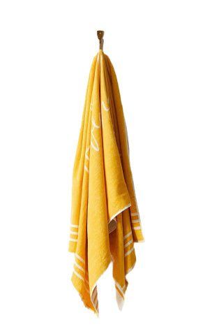 The Beach People Tuscan Yellow Signature Towel