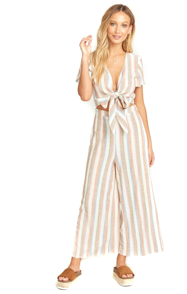Shorebert Stripe Val Jumpsuit