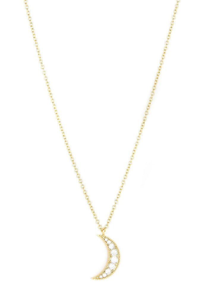 gorjana luna crescent necklace