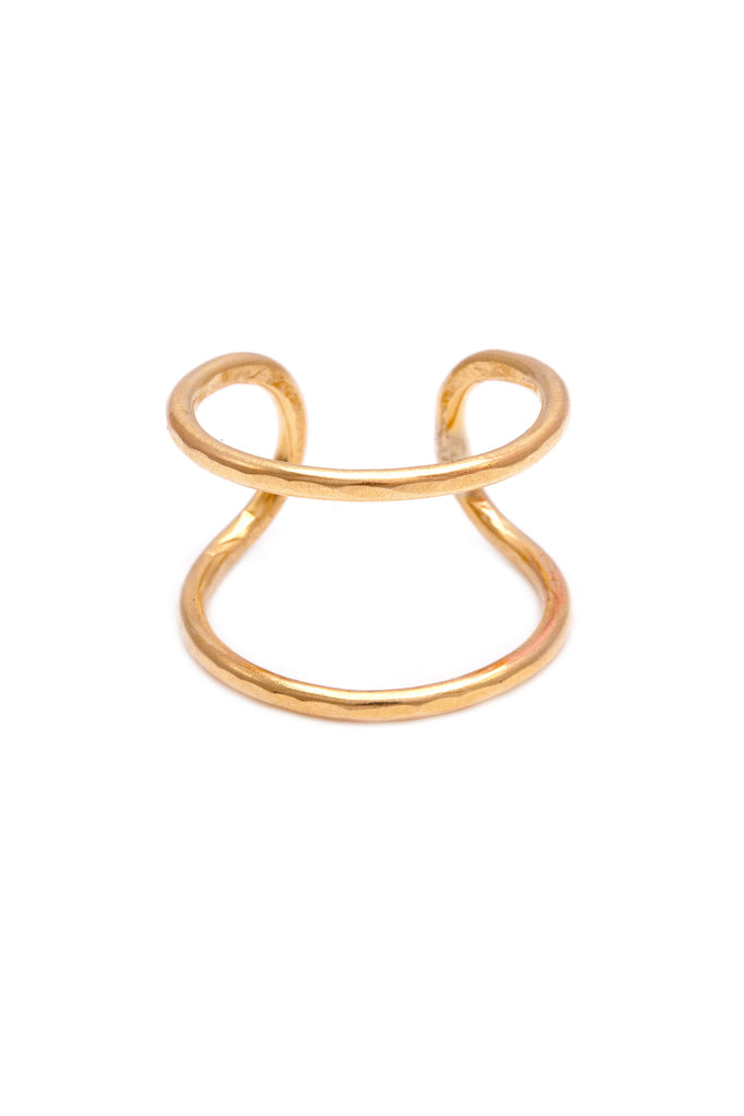 Paradigm Design gold parallel stack ring