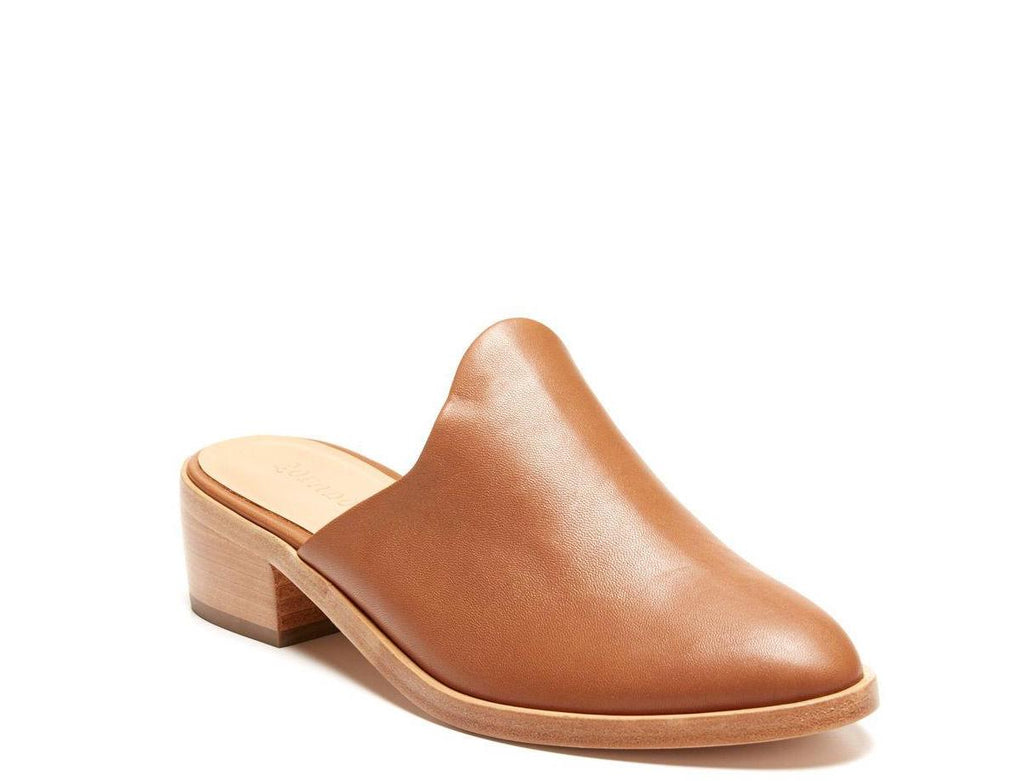 soludos venetian leather tan mule