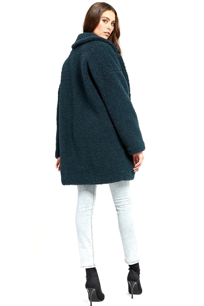 Gentle Fawn teal vera winter coat product image