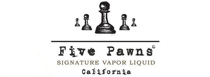 Five pawns vapor liquid