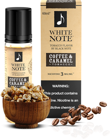 Coffee & Caramel Tobacco - White Note by Black Note