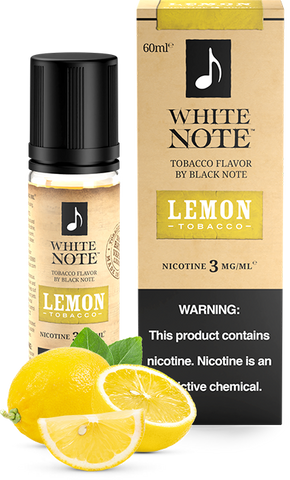 Lemon Tobacco - White Note by Black Note