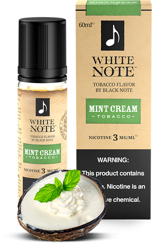 Mint Cream Tobacco - White Note by Black Note
