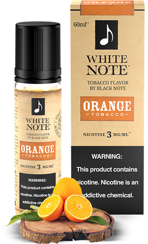 Orange Tobacco - White Note by Black Note