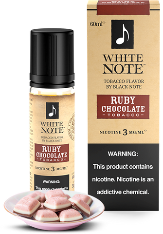 Ruby Chocolate Tobacco - White Note by Black Note