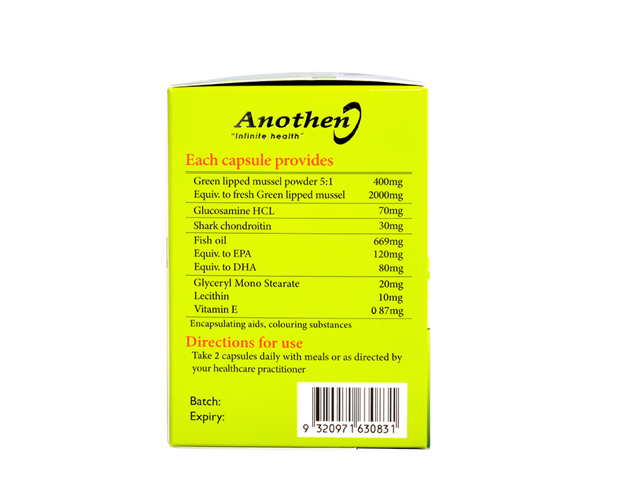 Anothen BioLipid Mussel 1200mg 120Capsules