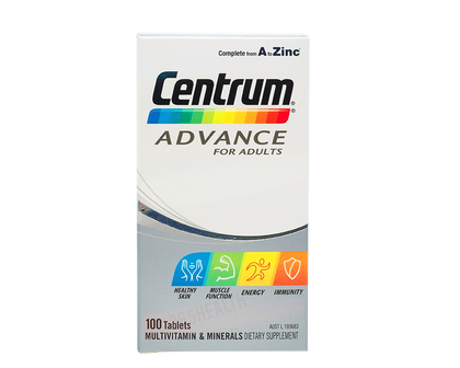 CENTRUM Advance for Adults 100 Tablets - 365 Health Limited