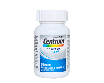 CENTRUM For Men 50+ 90 Tablets - 365 Health Limited