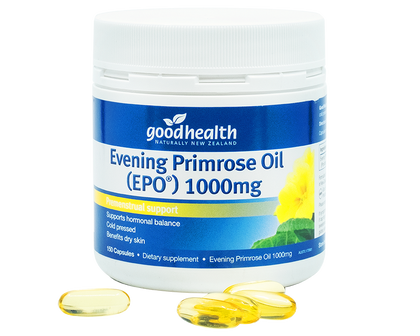 Good Health Evening Primrose Oil 1,000mg 150 Capsules - 365 Health Limited