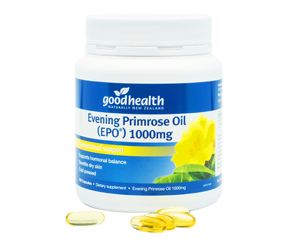 Good Health Evening Primrose Oil 1,000mg 300 Capsules - 365 Health Limited