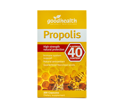 Good Health Propolis High Strength Flavonoid 40 200Capsules - 365 Health Limited