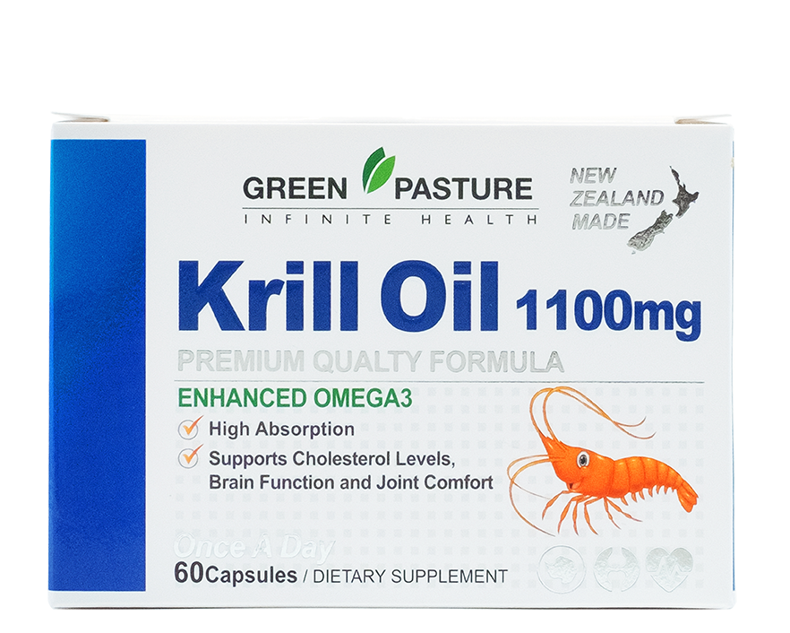 Green Pasture Krill oil 1100mg 60 capsules
