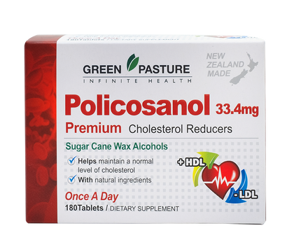 Green Pasture Policosanol 33.4mg - 365 Health Limited
