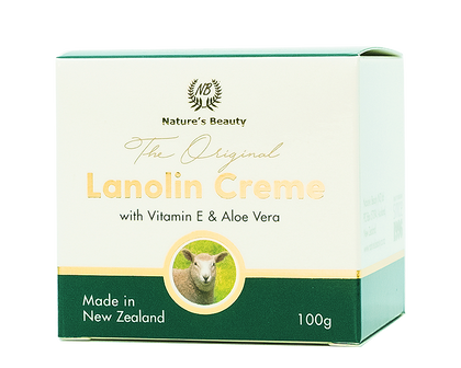 Nature's Beauty Lanolin Creme 100g - 365 Health Limited