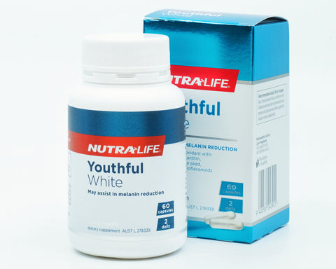 NUTRALIFE Youthful White 60capsules - 365 Health Limited