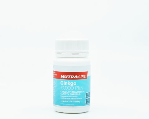 [Stock Clearance] NutraLife Ginkgo 10,000 Plus*3 - 365 Health Limited